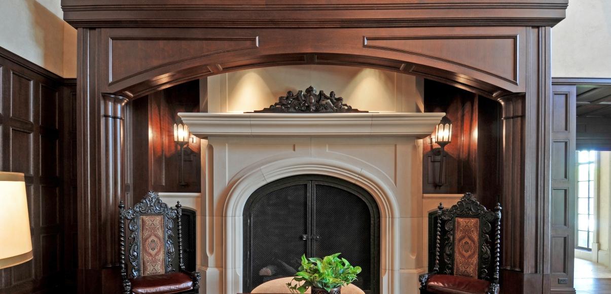 Dallas Country Club | Fireplace, Architectural Trims | Architectural Precast, GFRC, GFRG