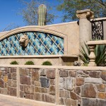 Mesa Precast - Ornamental Element Lion Head 1 | Hardscape | Home and Office Decor | Options for Color and Finishes