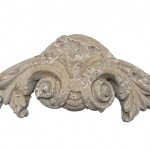 Mesa Precast Catalog Item Cartouche 1 | In this Image ... Color: Natural Honey, Moreno Finish