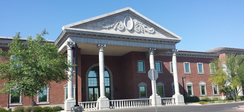 Architectural GFRC columns, corithian capitals, window, entry way surrounds, balustrade systems - Mesa Precast Architectural Stone Products