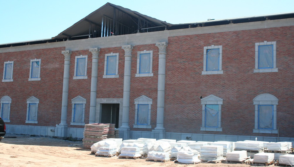 Mesa Precast Architectural GFRC - Support for Construction, onsite Installation