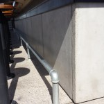 Architectural Precast Wainscots Adding to the Patio Experience at Zin Burger