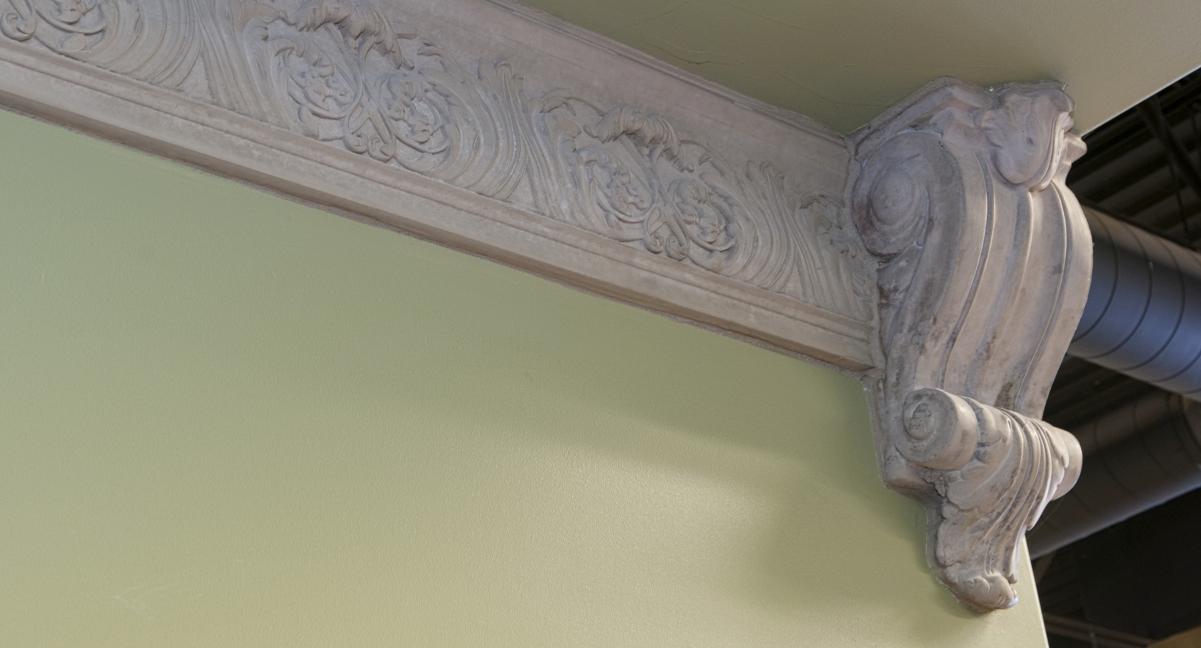 Mesa Precast | Crown Molding | Office Building Decor, Design | Architectural Trim CM-7 | Crescenzia Corbel | Product Color: Tan