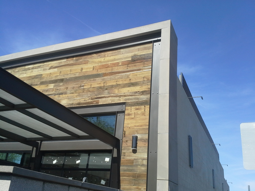 Mesa Precast | Custom Architectural GFRC Panels for Building Veneer | Gilbert Snooze Restaurant, Gilbert, Phoenix, AZ