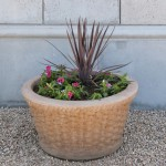 Mesa Precast Catalog Product – Basket Weave Planter | Flower Pot