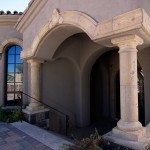 Mesa Precast | Home Exterior Decor | Catalog Product - Architectural Trim DP-2 | Damascus Corbel | Natural Honey Color, Moreno Finish | Hardscape Ideas