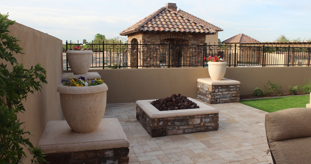 Mesa Precast | Planters, Wall Coping , Landscape Design Options | Matching Hardscape Colors for Uniform Effects