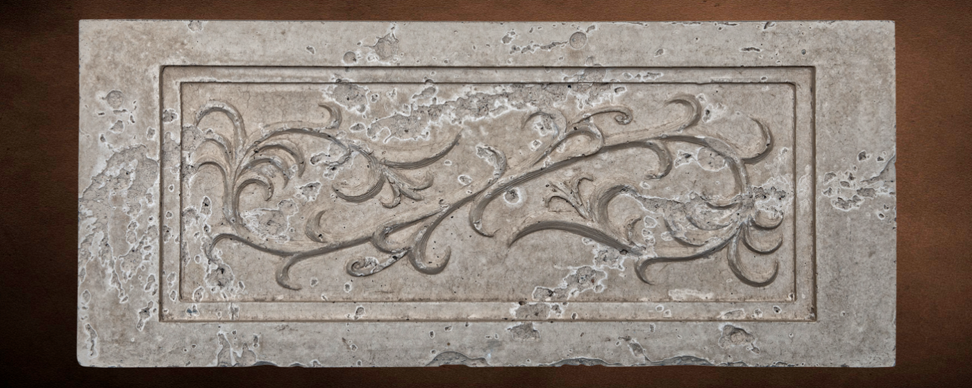 Trumpet Vine Decorative Panel 2 | In this image ... Moreno Finish with Natural Honey Color