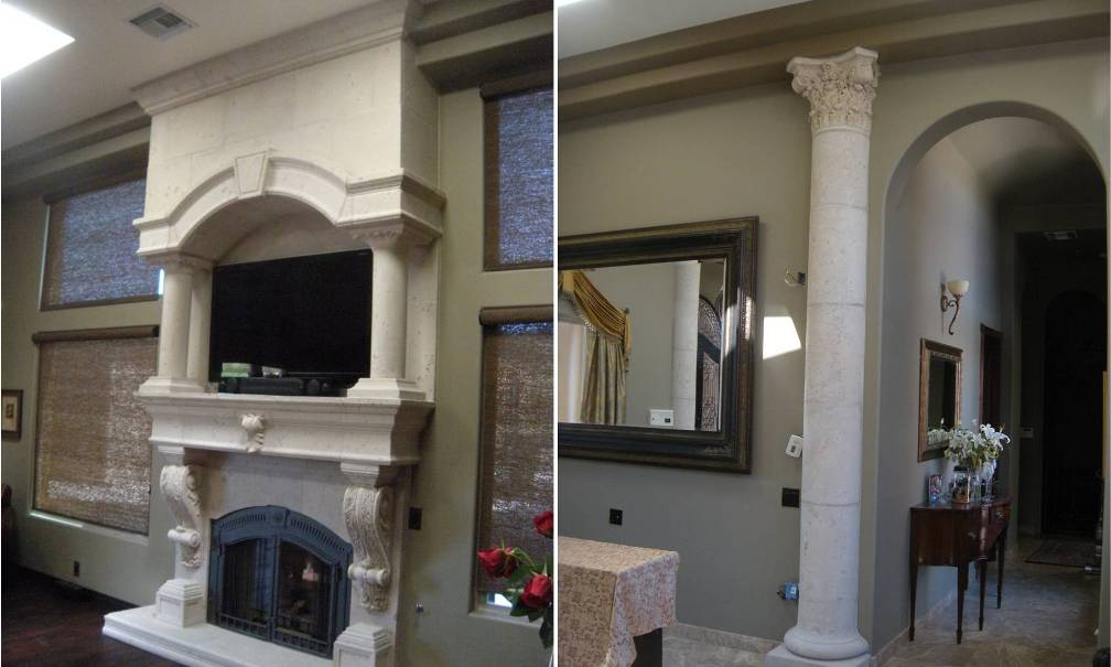 Architectural Columns For Home Interior Decor, Design