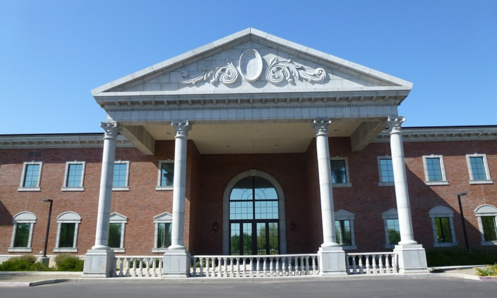 Gilbert Christian High School | GFRC Columns with Custom Color and Finish | Corinthian Capitals