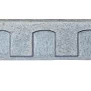Mesa Precast Catalog Product - Decorative Trim - Dentil Frieze 4 | Gray color - Smooth Finish