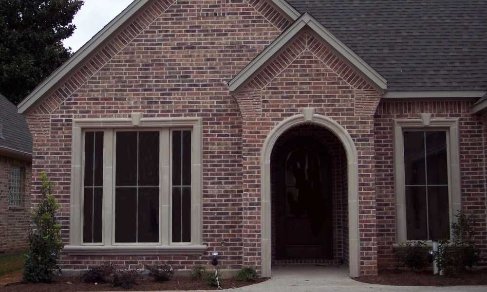 Home Elevation Design using Fabricated Stone Panels | Precast Concrete