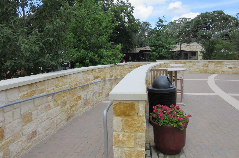 Mesa Precast Wall Coping using Architectural Precast Concrete, GFRC - Glass Fiber Reinforced Concrete