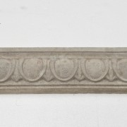 Large Egg and Dart | Architectural Trim - Grey Color | Smooth Finish