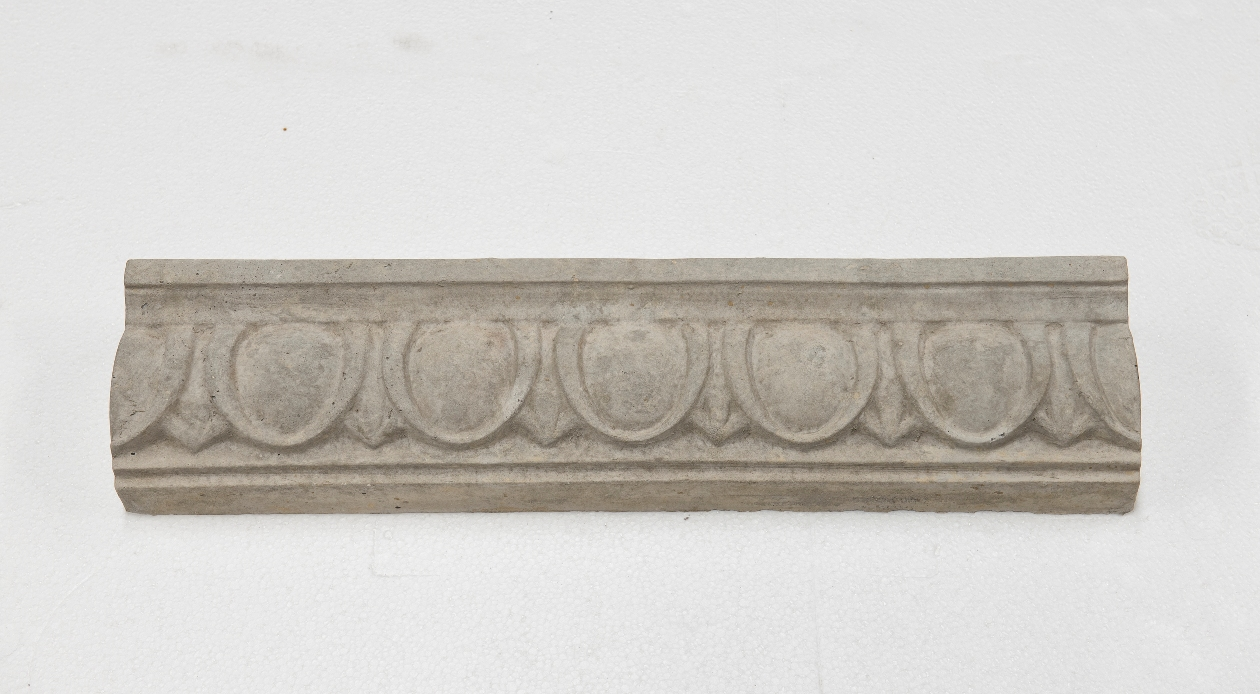 Large Egg and Dart   Architectural Trim - Grey Color   Smooth Finish