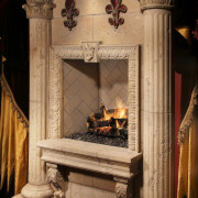 Mesa Precast - Architectural Precast Corbels, Specialty trim, high design custom columns for fireplace, interior