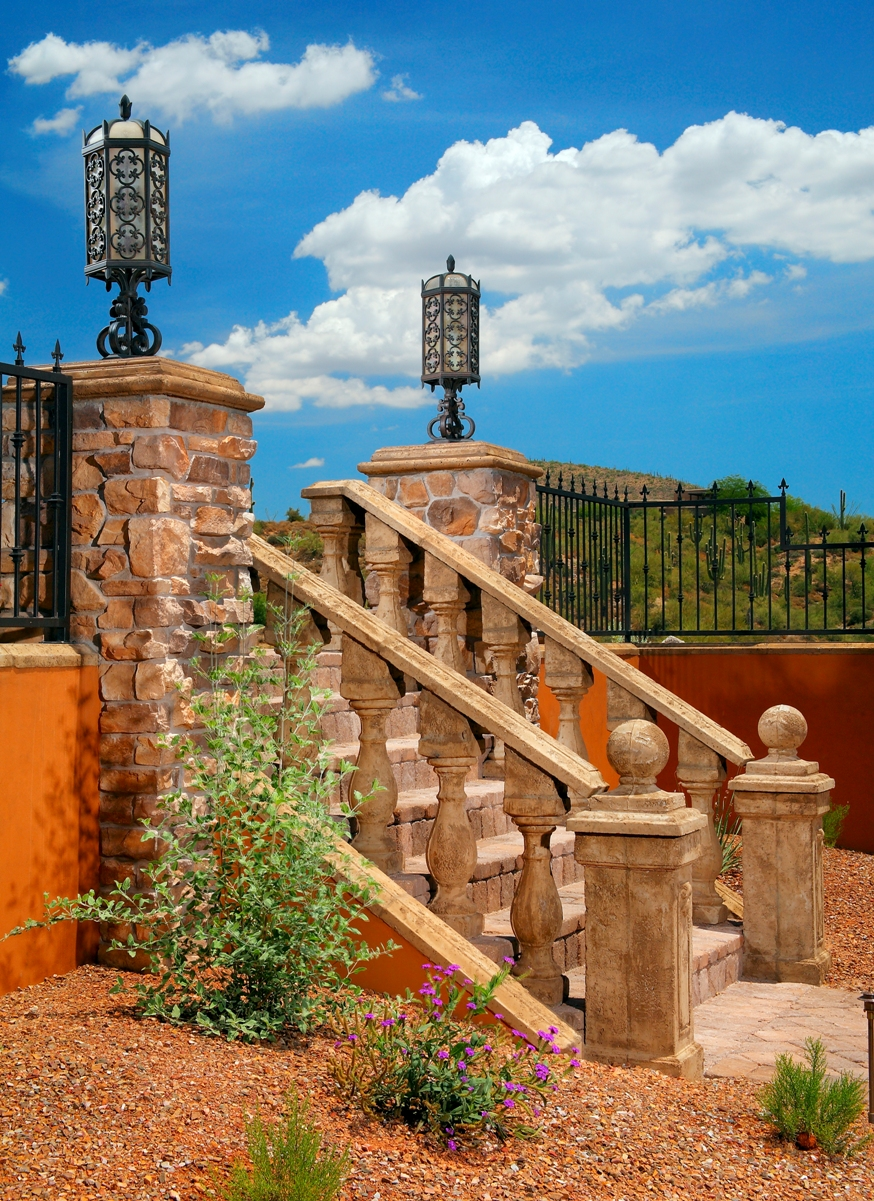 Mesa Precast |  Balustrade System, Wall Coping, Pier Caps | Custom Colors and Finishes