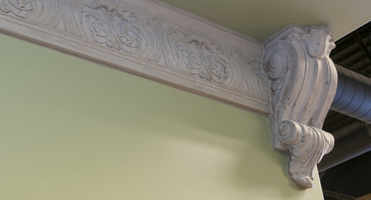Mesa Precast | Crown Molding | Office Building Decor, Design | Architectural Trim CM-7 | Crescenzia Corbel | Product Color: Tan