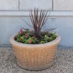 Mesa Precast Catalog Product – Basket Weave Planter | Flower Pot