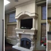 Mesa Precast | Home Decor | Interior Design | Door Surrounds, Fireplace, Corbels, Decorative Columns | Architectural Precast, GFRC