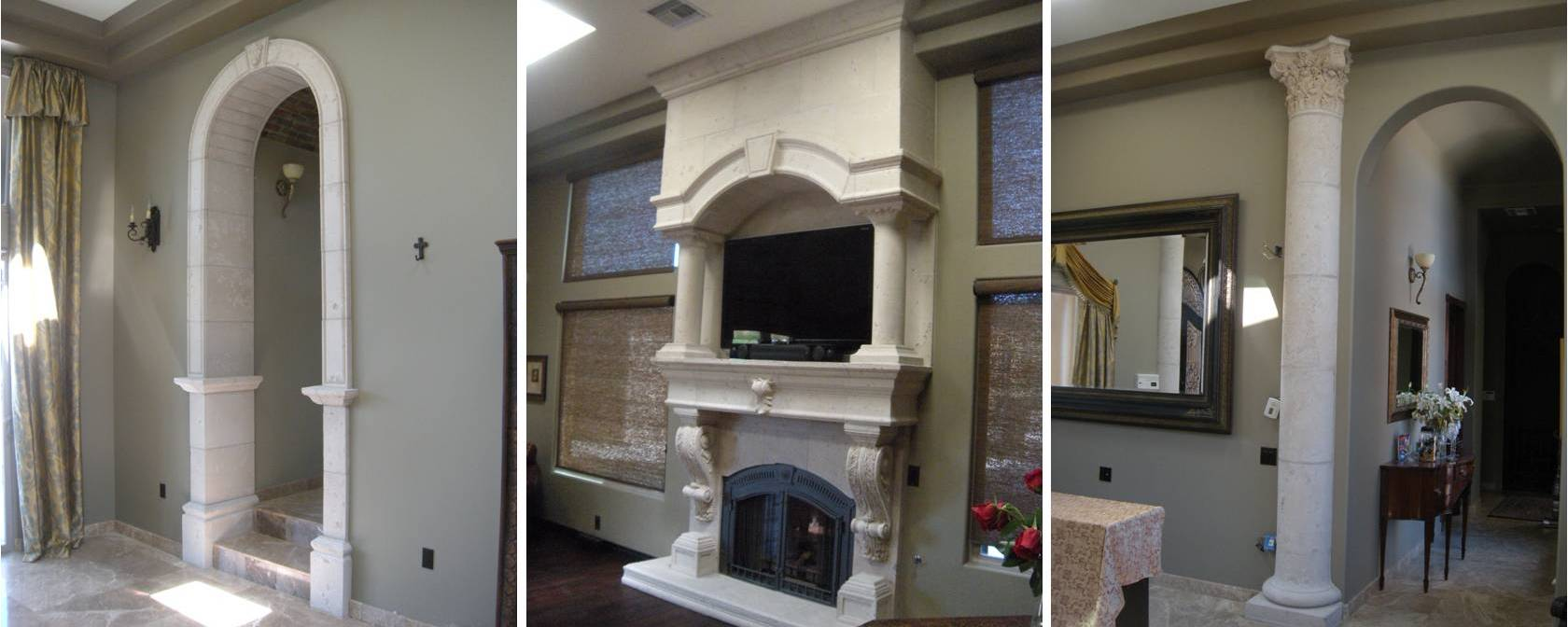 fireplace plastering large precast stone fireplaces llc r l