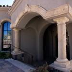 Mesa Precast | Home Exterior Decor | Catalog Product - Architectural Trim DP-2 | Damascus Corbel | Natural Honey Color, Moreno Finish | Hardscape Ideas