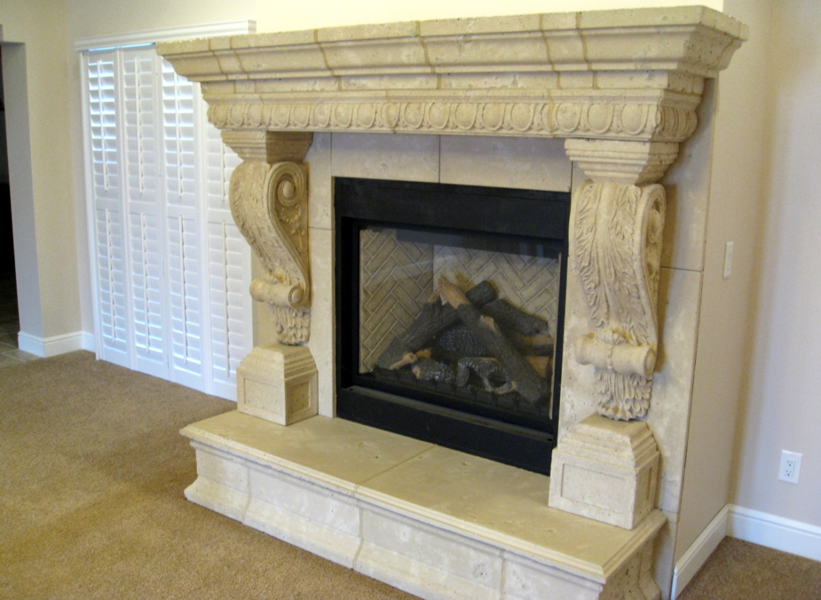 concrete cool kits decor creative precast fireplace architecture under design