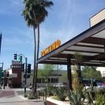 Mesa Precast | Planters Wall Coping at Postino, Gilbert, AZ | White Color Architectural Precast