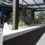 White Color Architectural Precast Planter Coping