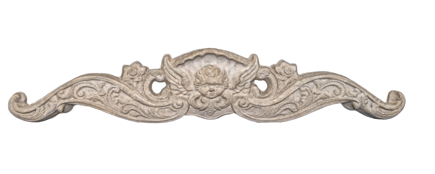 Ornamental Product Cartouche 2 - In this Image ...tan color - smooth finish