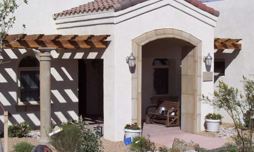 Hardscape Design, Home Decor using Architectural Columns, Entry Way Trim | Precast Concrete, GFRC