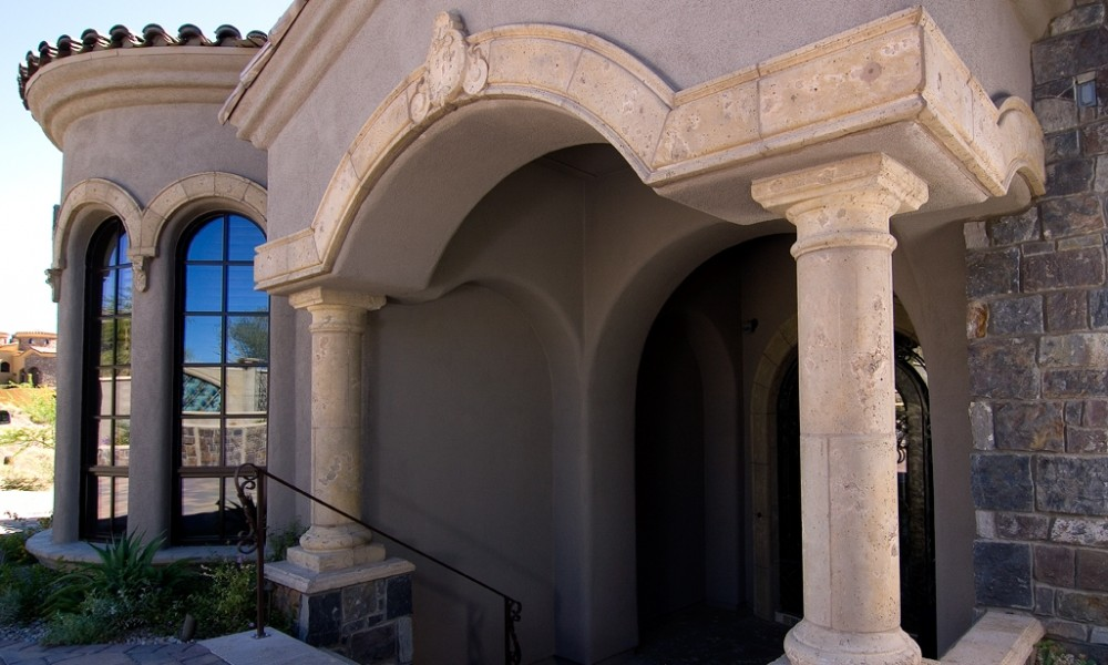 Mesa Precast Color, Finish Options for Architectural Columns, Hardscape Ornamental Elements, Entry Way Surround, Architectural Trim