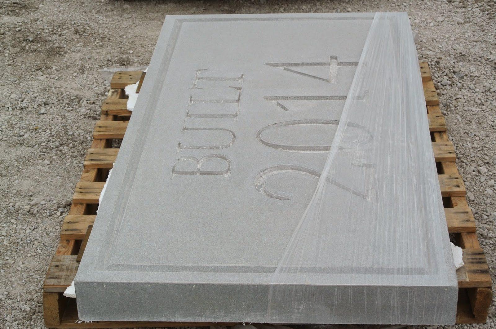 Custom GFRC Panels with Signage
